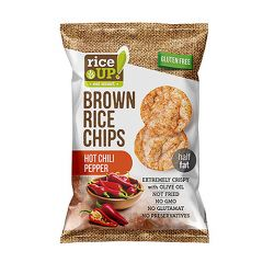 Rice Up Brown Chip With Hot Chili Pepper