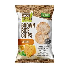 Rice Up Brown Chips With Cheese