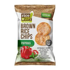Rice Up Brown Rice Chips With Paprika