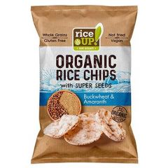 Rice Up Organic Rice Chips With Buckwheat And Amaranth