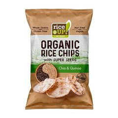 Rice Up Organic Rice Chips With Chia And Quinoa