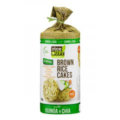 Rice Up Brown Rice Cakes With Quinoa Chia