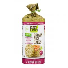 Rice Up Brown Rice Cakes With 7 Super Seeds