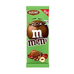 M&Ms Hazelnut Chocolate Bar