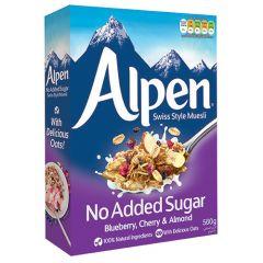 Alpen Blueberry, Cherry & Almond Swiss Style Muesli