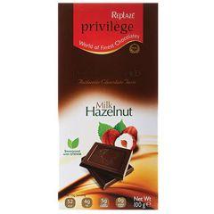 Replaze Privilege Milk Hazelnut Chocolate