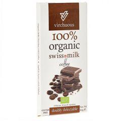 Virchuous Organic 100% Swiss Milk Coffee Chocolate