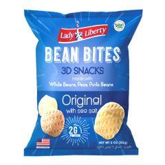 Lady Liberty Original With Sea Salt Bean Bites 3D Snacks