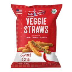 Lady Liberty Sweet Chili Veggie Straws