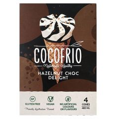 Cocofrio Hazelnut Choco Delight 4 Cones