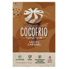 Cocofrio Salted Caramel 4 Cones