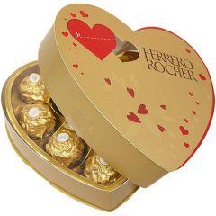 Ferrero Rocher Valentine's Day Chocolates Heart Gift Box