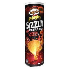 Pringles Szzln Extra Hot Cheese And Chili