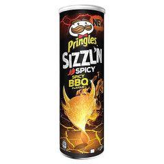 Pringles Sizzln Spicy BBQ