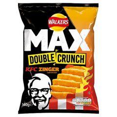 Walkers Max Double Crunch KFC Zinger Sharing Crisp