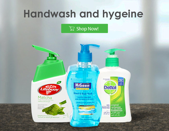 Handwash and hygiene | Best Online Grocery Shopping Store & home delivery in Kuwait just one click away. Place your order Now from the comfort of your home