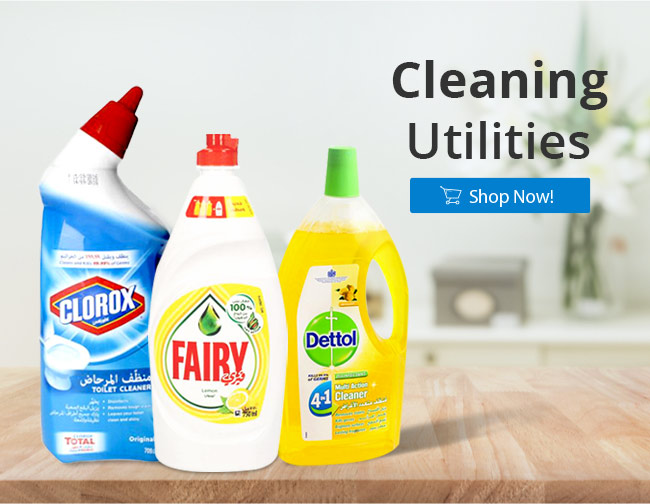 Household Cleaners| Best Online Grocery Shopping Store & home delivery in Kuwait just one click away. Place your order Now from the comfort of your home